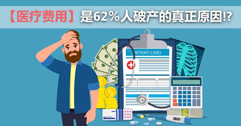 【医疗费用】是62%人破产的真正原因!?