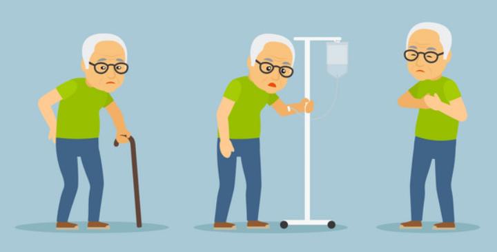 退休后的衰老期