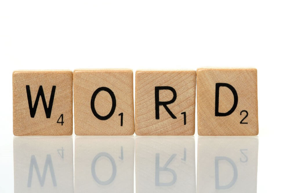 字母,word