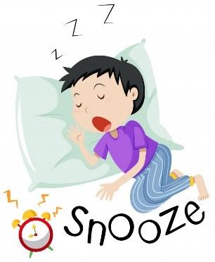 睡觉,睡懒觉