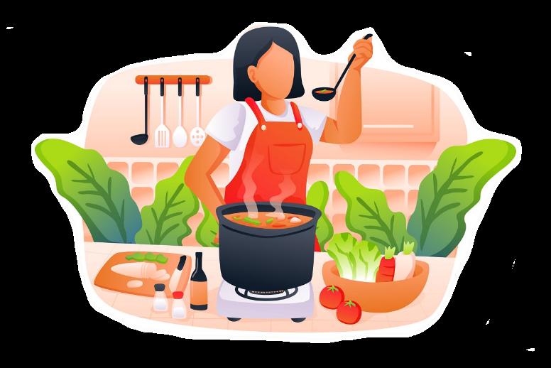 cooking, 烹饪