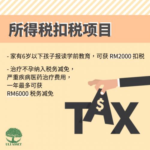 所得税扣税项目