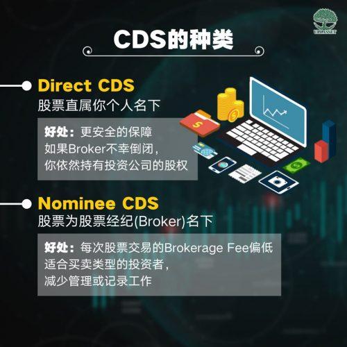 CDS的种类