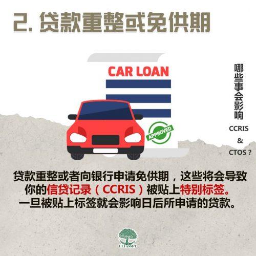 贷款重整或免供期
