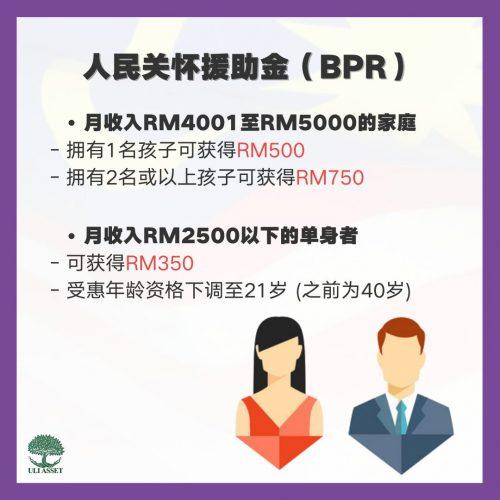 人民关怀援助金(BPR)